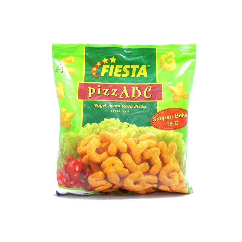 Fiesta Ayam Nugget Abc Rasa Pizza 500 Gr