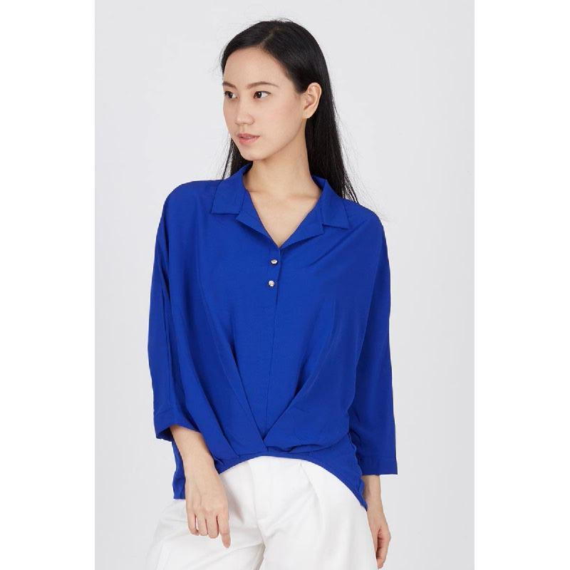 Eve Blue Shirt Top