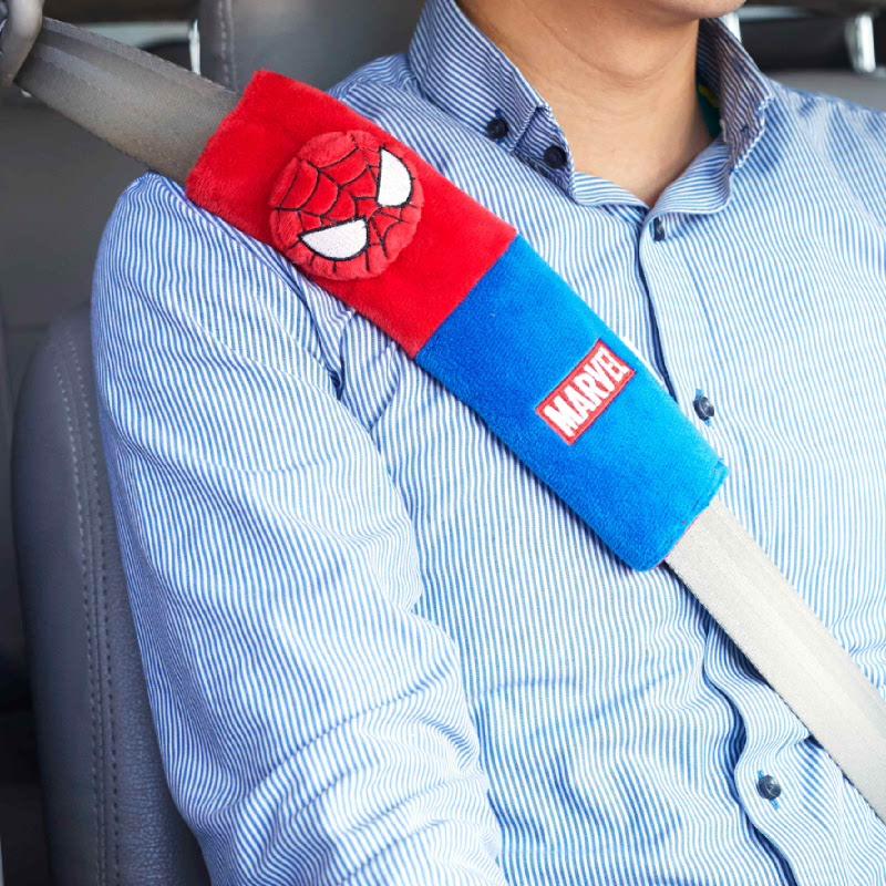 Seat Bealt Spiderman
