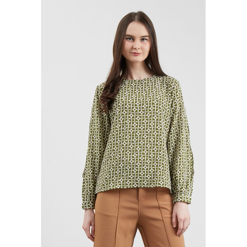 Gianara Green Top