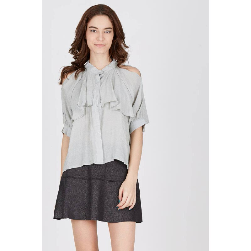 Francois Werdau Top in Grey