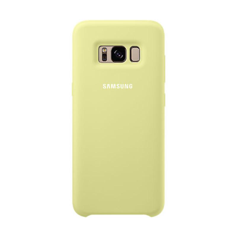 Samsung Silicone Cover For Galaxy S8 - Hijau
