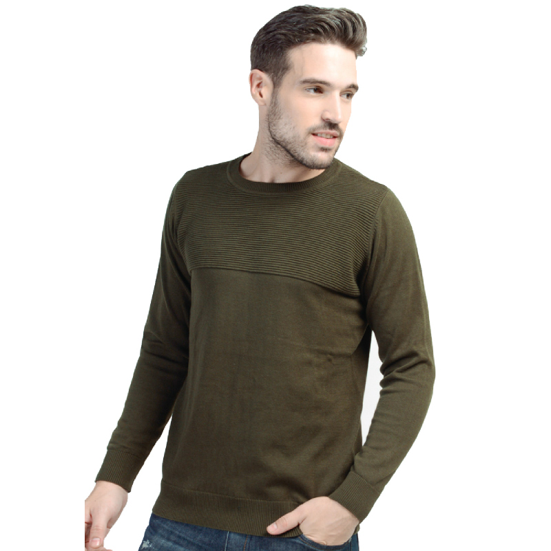 Army Green  Classic Sweater