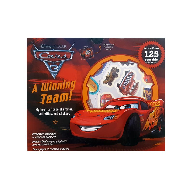 Disney Cars 3 Suitcase Act