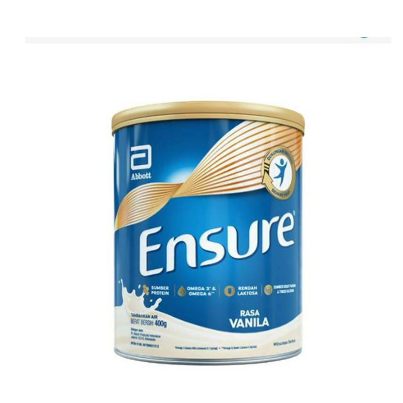 Ensure Fos Vanilla Tin 400 Gr