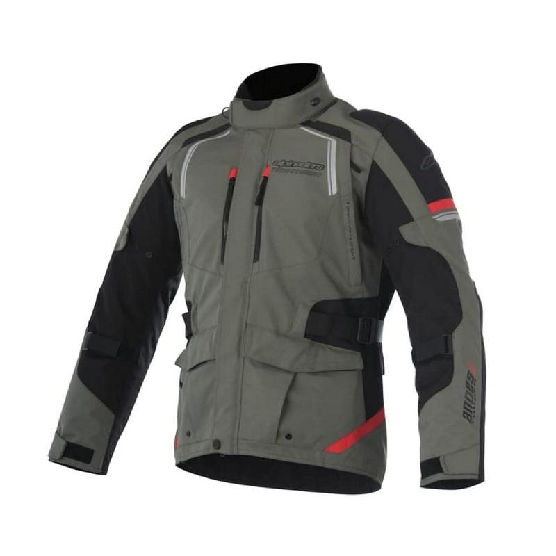 Alpinestars Andes V2 Drystar Textile Jacket Military Green Touring