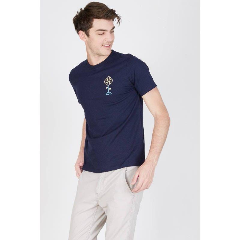 Men Feel The Nature Tshirt Navy