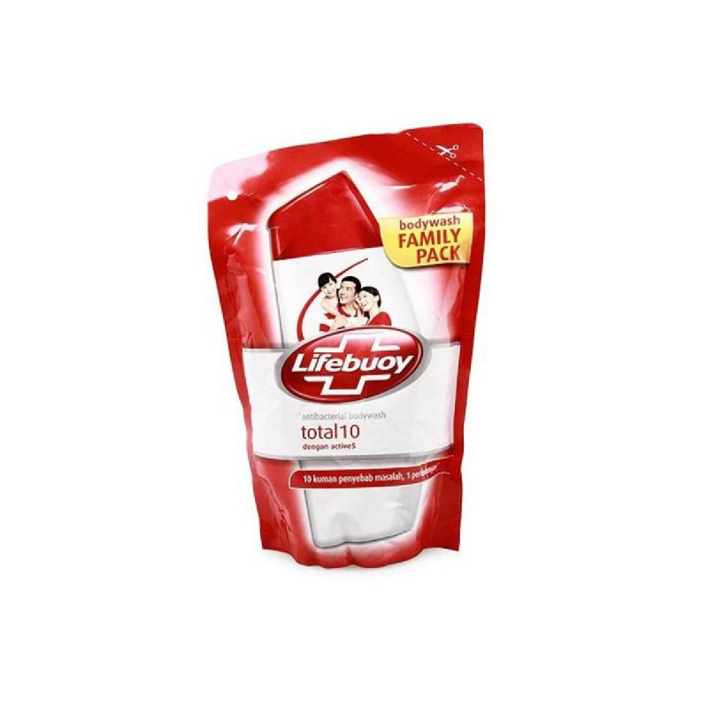 Lifebuoy Body Wash Red Total10 Refill 450 Ml