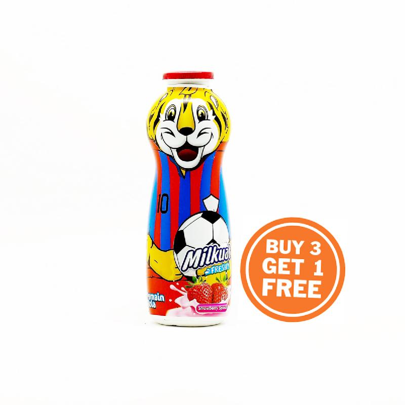 Milkuat Strawbery 130 Ml Btl (Buy 3 Get 1)