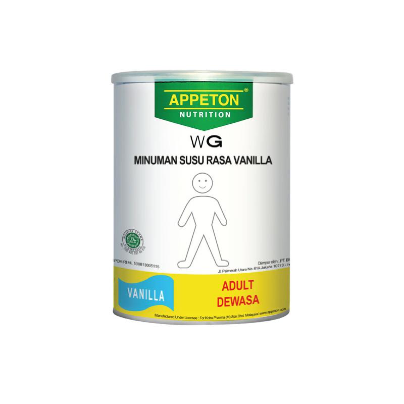 Appeton Susu Bubuk Weight Gain Adult Vanilla 450 Gr