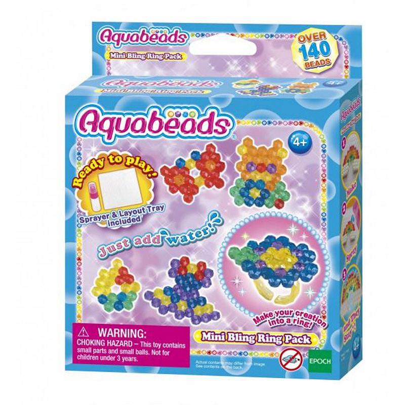 Aquabeads En Mini Bling Ring Pack - TEAQ30919