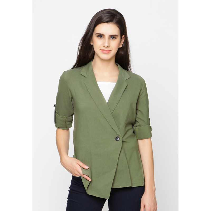 Agatha Overslah Green Blouse Green