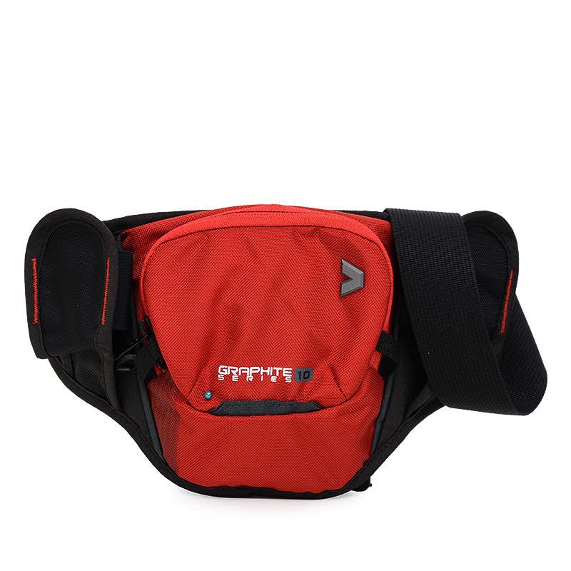Kalibre Travel Pouch Graphite 10 Red-Black