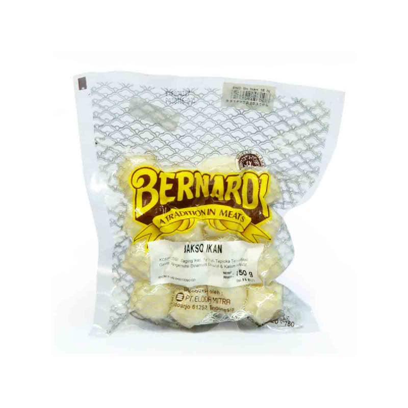 Bernardi Bakso Ikan 150 Gr isi 16 Pcs