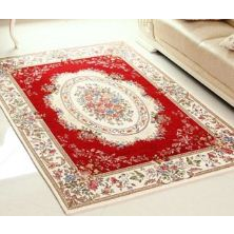 Vintage Story - Victoria Karpet Atau Keset Antislip Ruang Tamu 120x180 Cm - VP12 - Merah