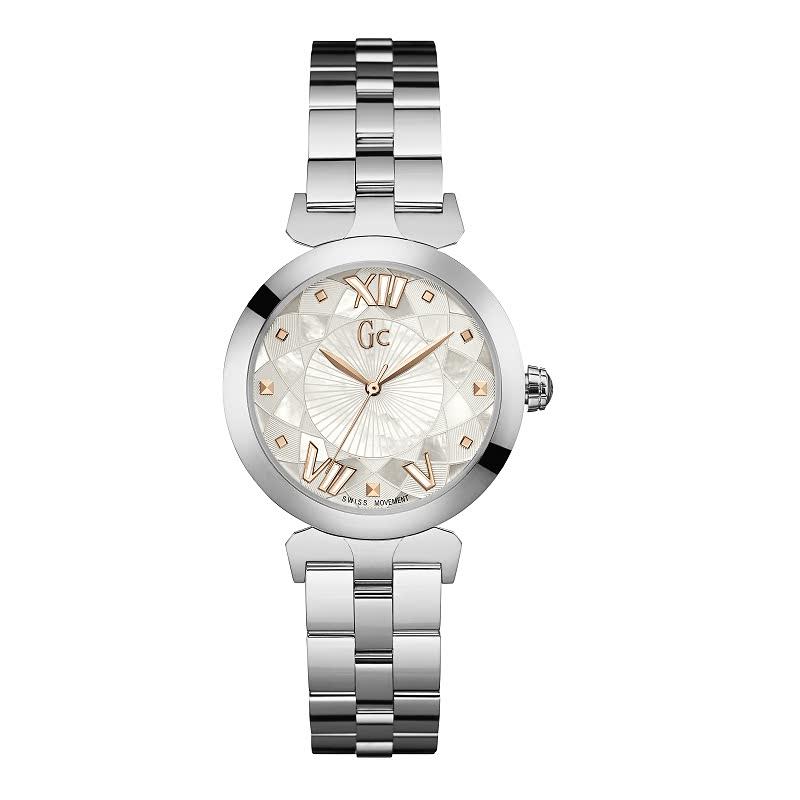 Gc Women Watch LadyBelle Y19001L1 Silver