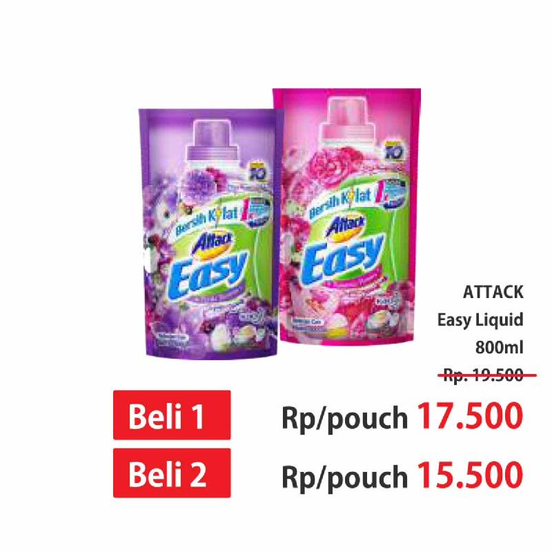 Attack Easy Liquid 800Ml All Variant