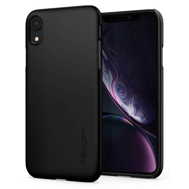 Spigen iPhone XR Case Thin Fit - Black