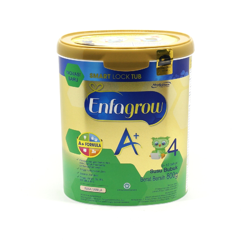 Enfagrow Powder Milk A+ 4 Vanilla Tin 800G