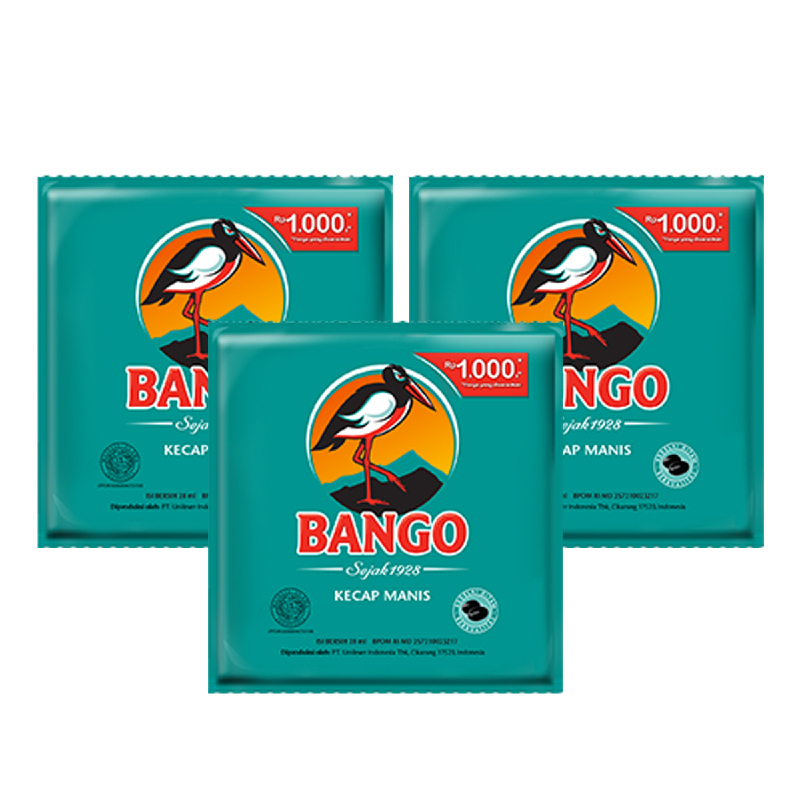 Bango Kecap Manis Sachet 30 ml