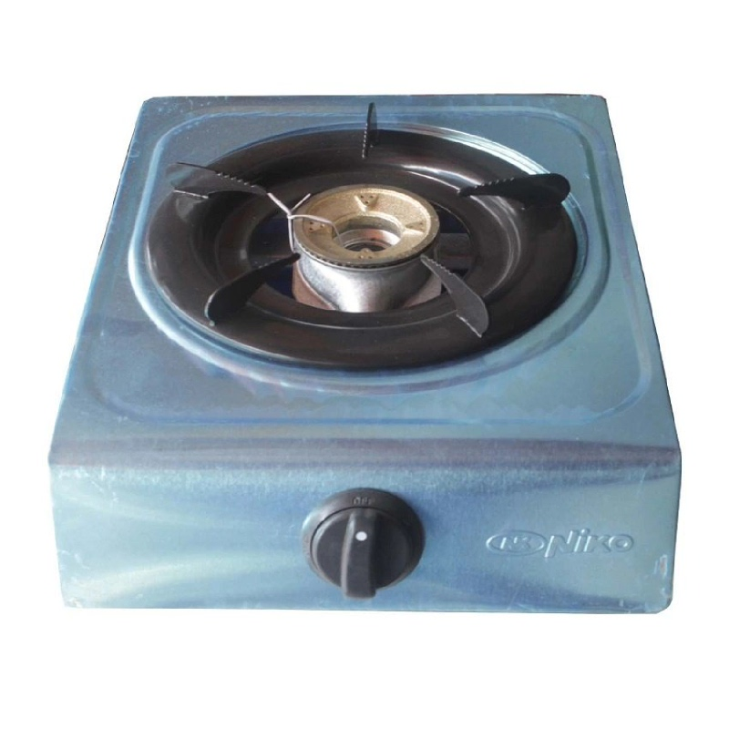 Gas Stove 1 Stove NK-200A Stainless ( 1 Tungku)