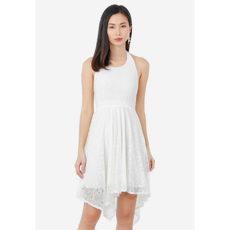 Lovadova Sarah Dress White