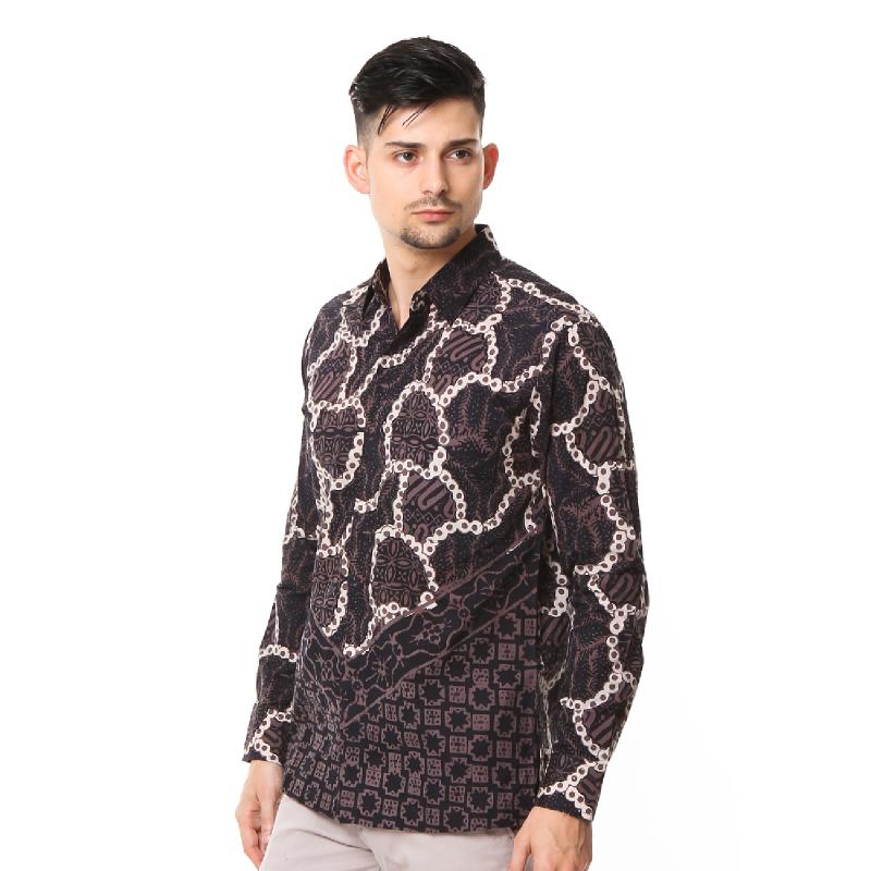 Agrapana Batik Lengan Panjang 105.02.855.05.Hitam