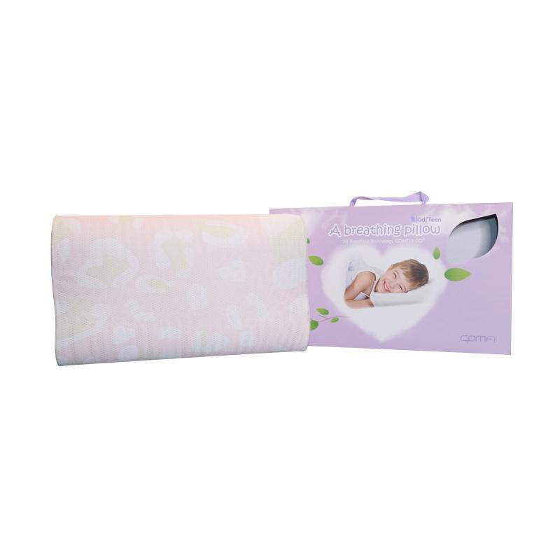Comfi Bantal Bayi Breathing Pillow Teen Pink