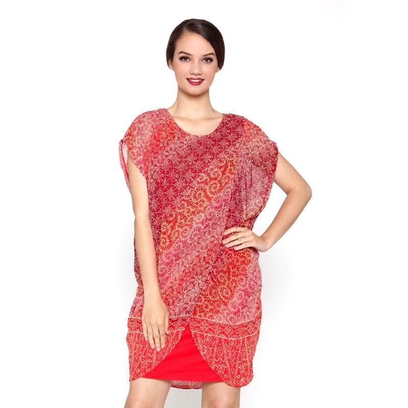 Chantilly Maternity&Nursing Dress Calista 53003 - Orange