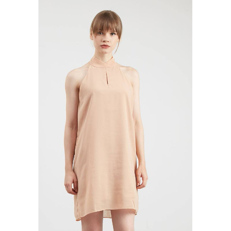 Gwen Hachen Dress in Cream
