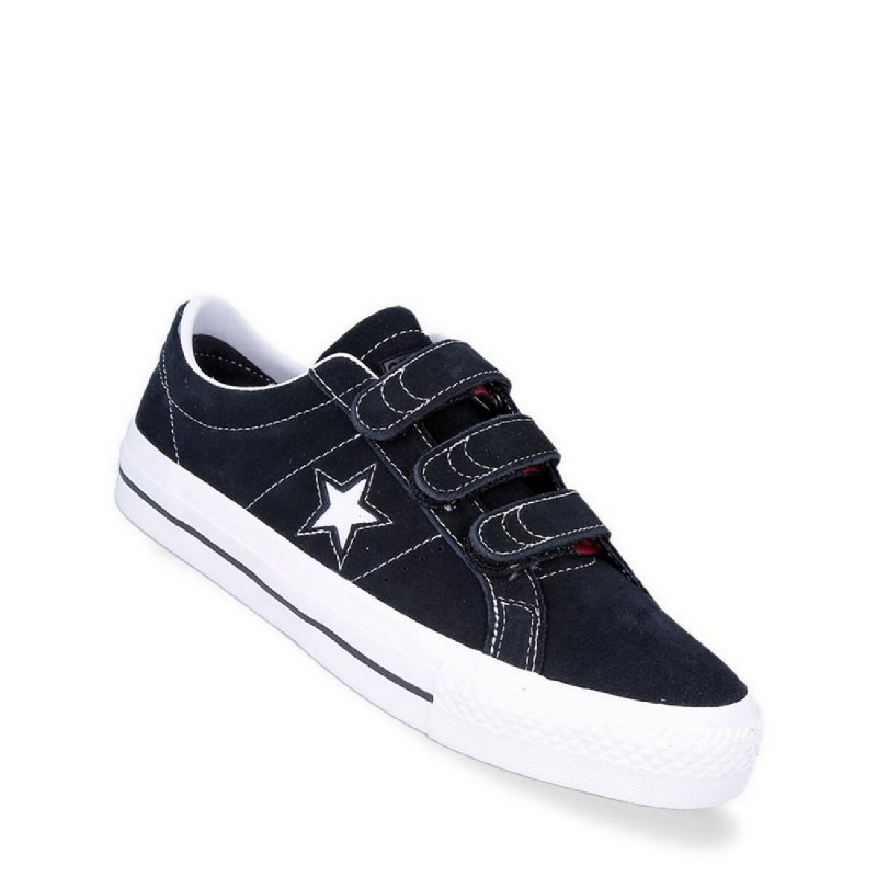 Converse One Star Pro 3V Ox Men Sneakers Shoes Black