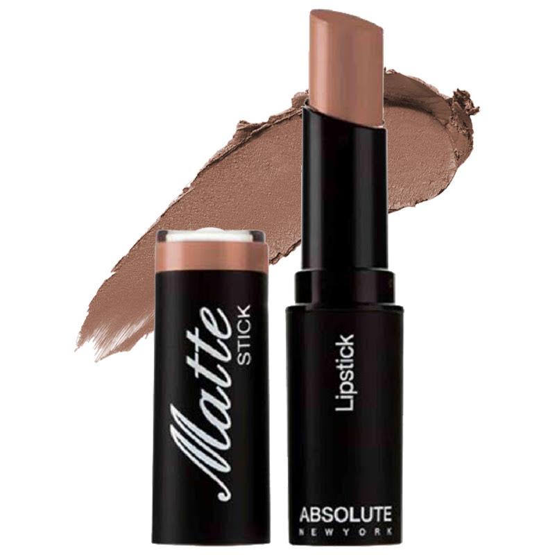 Absolute New York Matte Stick Lipstick Brown