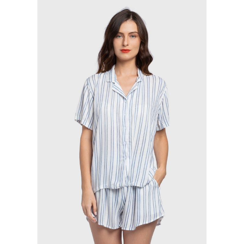 Lovadova Noe Stripe Sleepwear Set Multi