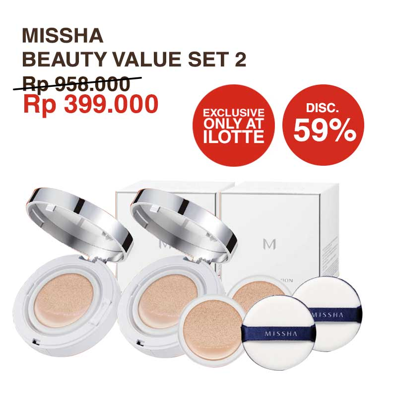 Missha Beauty ValueSet 2 (Cushion Shade 21 & 23)