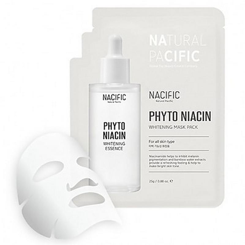 Nacific Phyto Niacin Whitening Mask Pack 30g