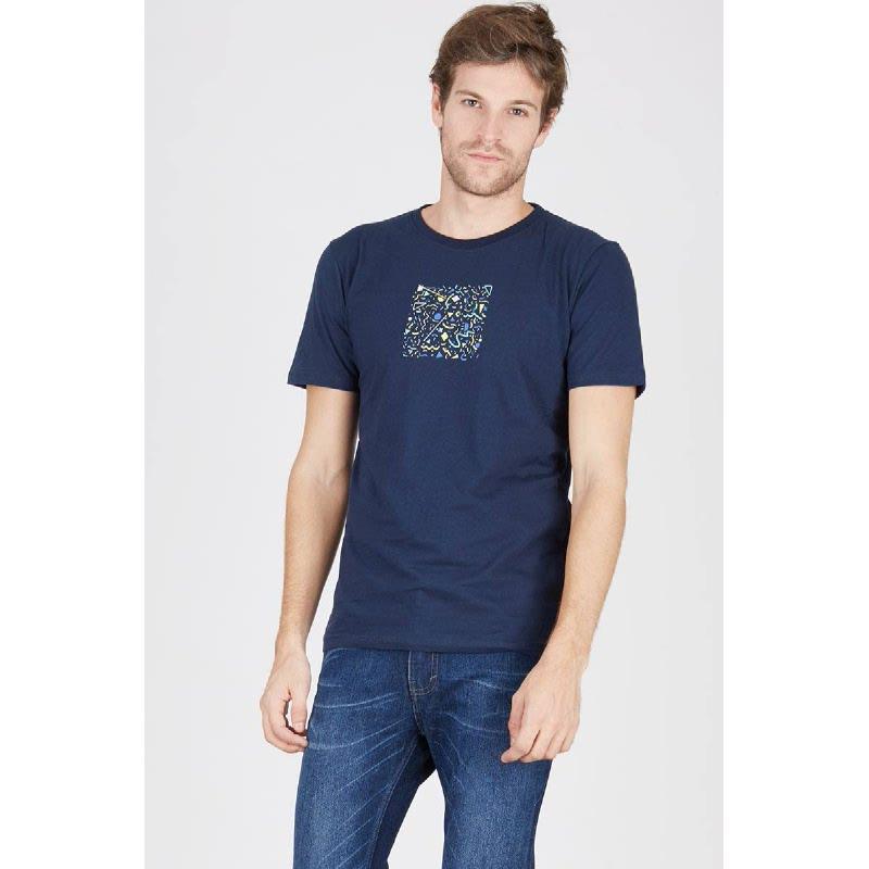 Men T-Shirt True Lies Navy