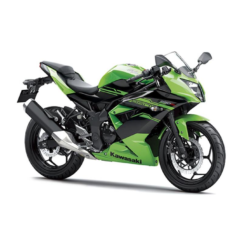 Kawasaki Ninja 250 Sl Sepeda Motor - Hijau (Jadetabekser)