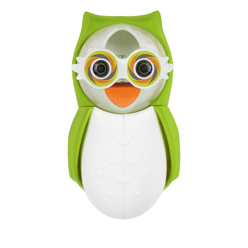 Flipper Toothbrush Cover - Owl Earthy Green