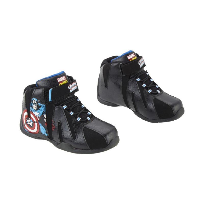 Avengers Captain America Shoes Hi Cut Black