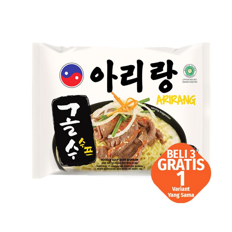 Mi Arirang  Kuah Sup Sum Sum  130 Gr (Buy 3 Get 1)