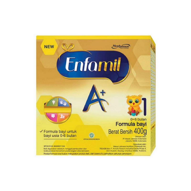 Enfamil A+ 1 Susu Bubuk Prebiotic Box 400G