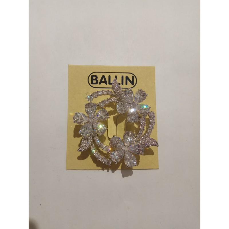 Ballin Women Brooch LF-BRX05523CS Silver