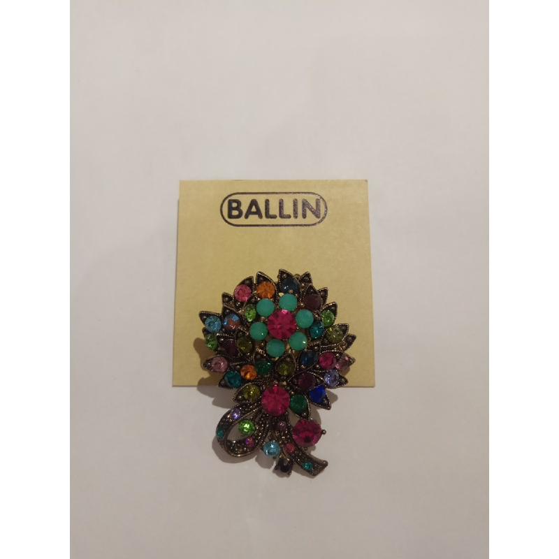 Ballin Women Brooch TM-BR53MULT Titanium