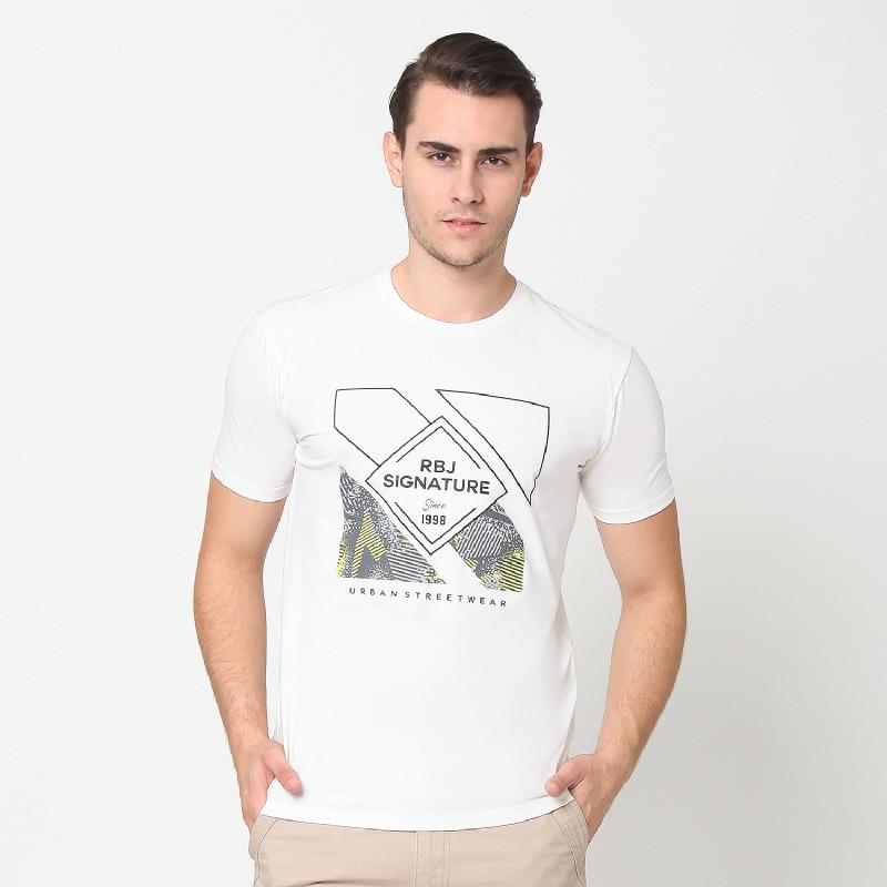 RBJ Tshirt Pria 259890111 Putih