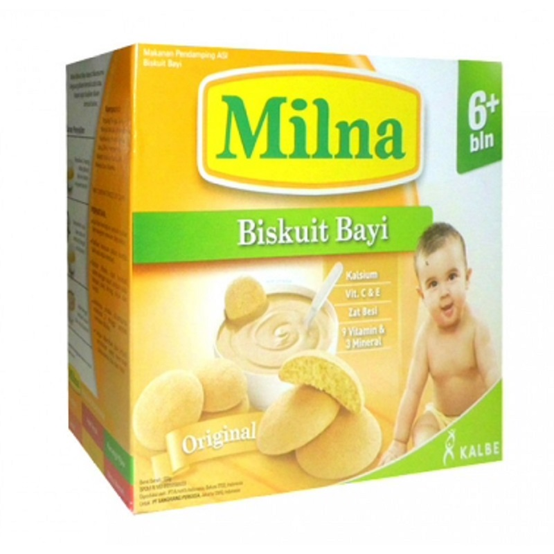 Milna Biskuit Bayi Original Box 130 Gr