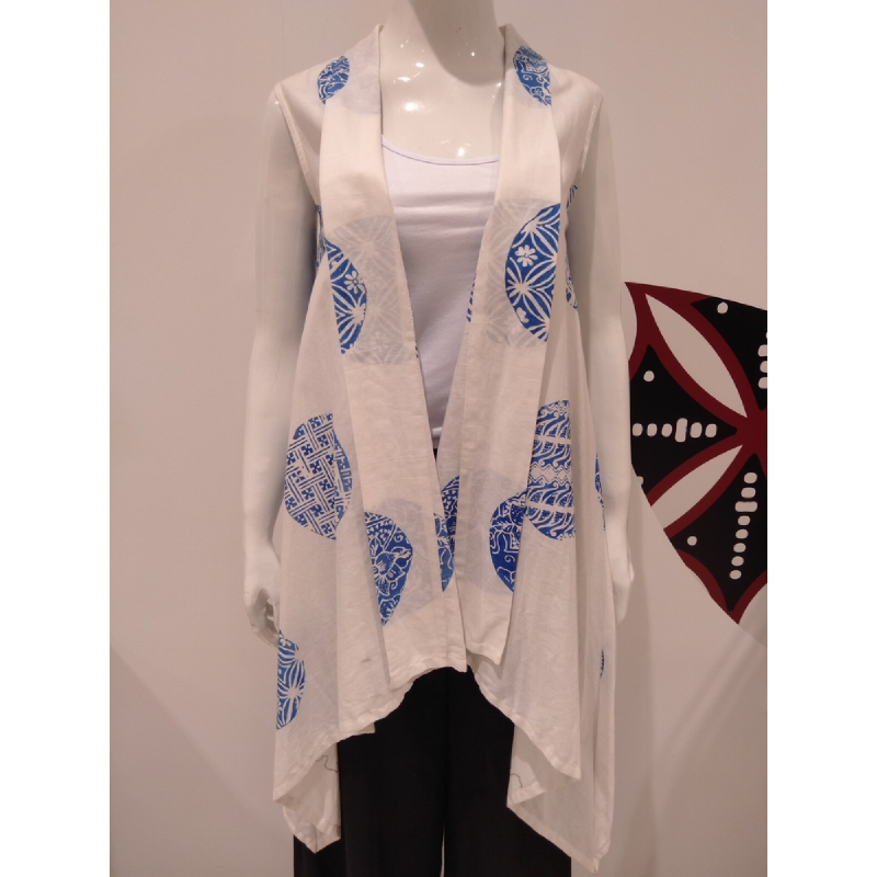 Astari Batik Coat White