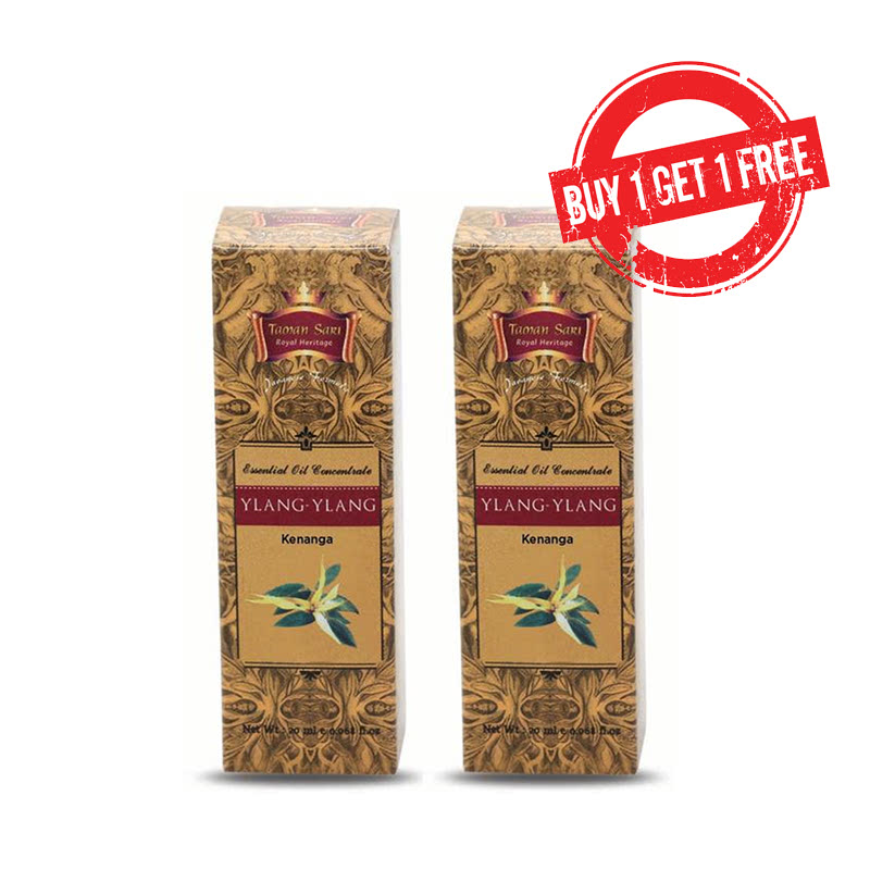 Taman Sari Royal Heritage Essential Oil Concentrate Ylang Ylang - 20 mL (2pcs)