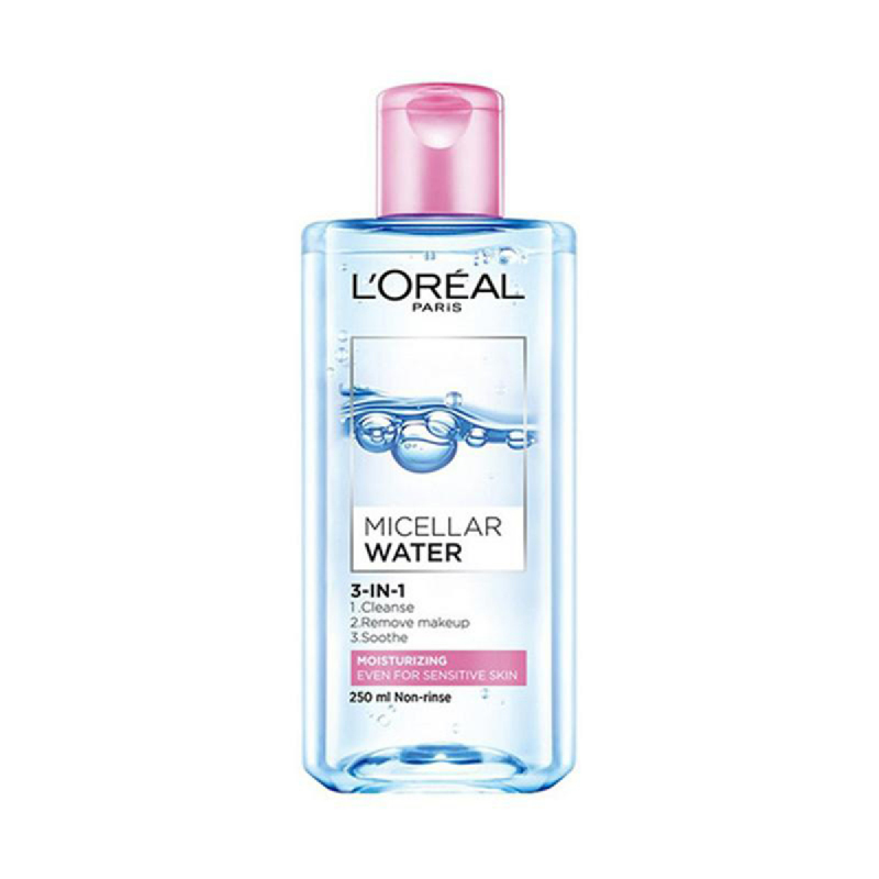 Loreal Micellar Water 3In1 Moisturizing 250Ml