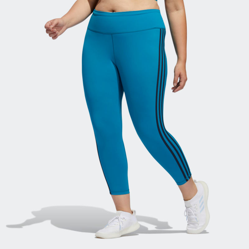 Adidas Believe This 3-Stripes 7 8 Tights (Plus Size) FP7778
