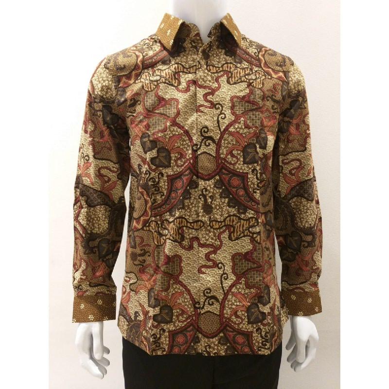 Asana Batik Long Sleeve LS7404BRN Brown